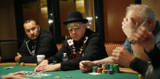 William gazes poker