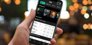 betting through a mobile app