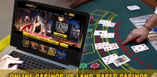 Physical vs Online Casino